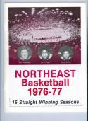 1976 Northeastern Basketball Media Guide bkbx5.1277