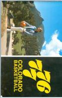 1976 Colorado Basketball Media Guide bkbx5.1209