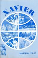 1976 Xavier Basketball Media Guide bkbx5.1351