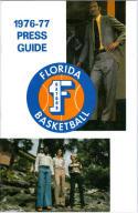 1976 Florida Basketball Media Guide bkbx5.1225