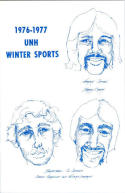 1976 New Hampshire Basketball Media Guide bkbx5.1270