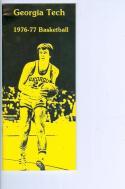 1976 Georgia Tech Basketball Media Guide bkbx5.1231