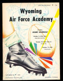 1959 9/26 Wyoming vs Air Force Academy Football program