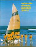 1976 Jacksonville Basketball Media Guide bkbx5.1385