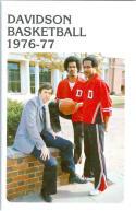 1976 Davidson Basketball Media Guide bkbx5.1215