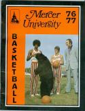 1976 Mercer Basketball Media Guide bkbx5.1393