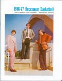 1976 East Tennessee Basketball Media Guide bkbx5.1371