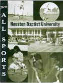 1976 Houston Baptist Basketball Media Guide bkbx5.1378
