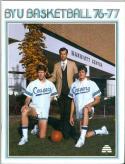 1976 Brigham Young Basketball Media Guide bkbx5.1363