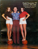 1976 Northwestern State Basketball Media Guide bkbx5.1403