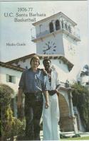 1976 UC Santa Barbara Basketball Media Guide bkbx5.1327