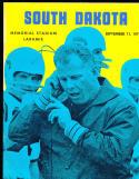 1971, 9/11 Wyoming vs South Dakota Football program