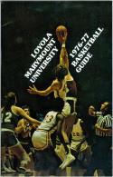 1976 Loyola Marymount Basketball Media Guide bkbx5.1251