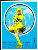9/14 1974  Wyoming vs Utah State Football program cbx17