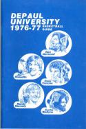 1976 DePaul Basketball Media Guide bkbx5.1220