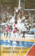 1976 Temple Basketball Media Guide bkbx5.1319