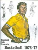 1976 Morehead Basketball Media Guide bkbx5.1395