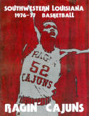 1976 Southwestern Louisiana Basketball Media Guide bkbx5.1311