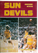 1976 Arizona State Basketball Media Guide bkbx5.1354