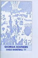 1976 Georgia Southern Basketball Media Guide bkbx5.1229