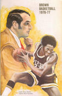 1976 Brown Basketball Media Guide bkbx5.1194
