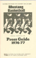 1976 Cal Poly Basketball Media Guide bkbx5.1197