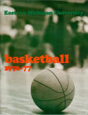 1976 Eastern Michigan Basketball Media Guide bkbx5.1372