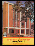 1964 10/17 USC vs Ohio State football program CFBbx10