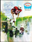1969 12/6 Pasadena Bowl San Diego State vs Boston College  football program