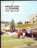 1967 9/16 Oregon State vs Stanford football program