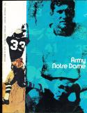 1970 10/10 Army Notre Dame football program