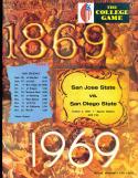 1969 10/4  San Jose State vs San Diego state football program
