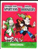 1969 11/1 Michigan State vs Indiana football program