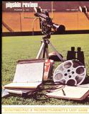 1969 10/11 Stanford vs Usc football program