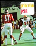 1975 10/25 Princeton vs Penn football program