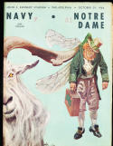 1966 10/29 Navy vs Notre Dame football program