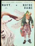 1966 10/29 Navy vs Notre Dame football program