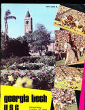 1969 10/25 Georgia Tech vs USC  football program em/nm