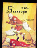 1964 11/7 USC vs Stanford football program
