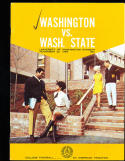 1969 11/22 Washington vs Washington State football program