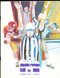 1970 10/31 California vs USC football program
