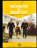 1969 10/18 Washington vs Oregon state football program