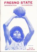 1978 Fresno State College Basketball Press Media Guide
