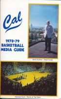 1978 California Golden Bears College Basketball Press Media Guide
