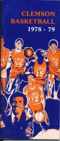 1978 Clemson College Basketball Press Media Guide