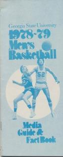 1978 Georgie State University College Basketball Press Media Guide