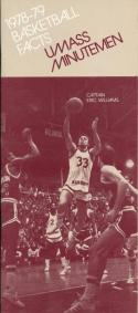 1978 University of Massachusetts College Basketball Press Media Guide