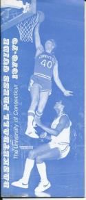 1978 University of Connecticut College Basketball Press Media Guide