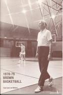 1978 Brown Joe Mullaney College Basketball Press Media Guide