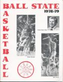 1978 Ball State College Basketball Press Media Guide